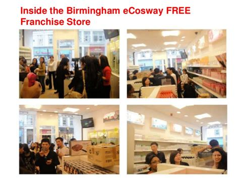 free franchise store business opportunity ecosway uk