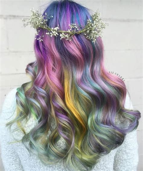 Mermaid Hairstyles by 20 Gorgeous Mermaid Hair Ideas From Vibrant To Pastel