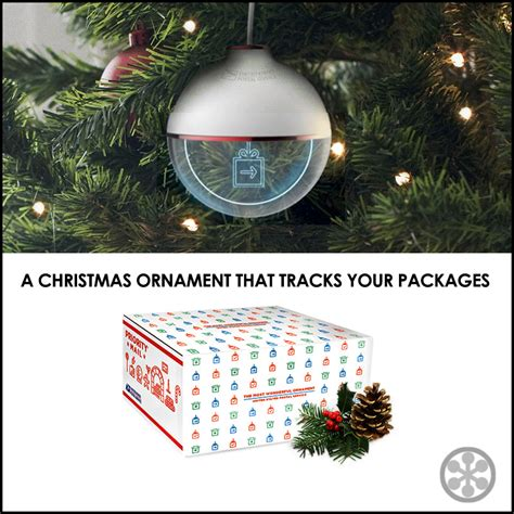 the upsp introduces a package tracking christmas ornament