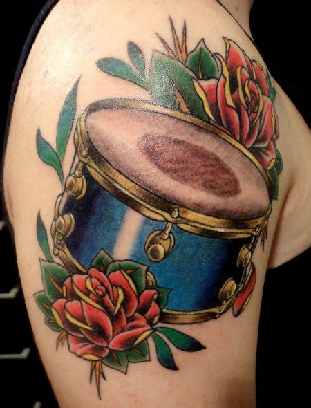 tattoo drum kit drum tattoo on tumblr
