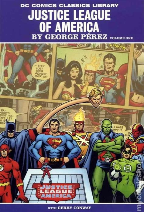 justice league the of the books comic books in dc comics classics library