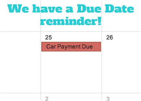card payments before due date set up calendar as a bill pay calendar and pay your