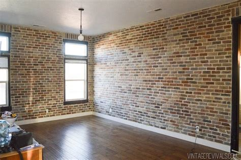 Installing Brick Veneer Inside Your Home ? Vintage Revivals