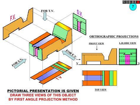 Engineering Drawing Angle Projection Pdf