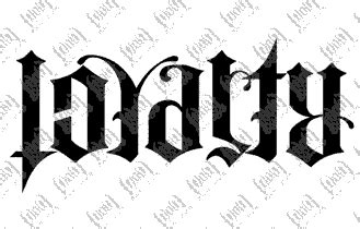 alphabet anagram tattoo anagram tattoos loyalty respect ambigram tattoos