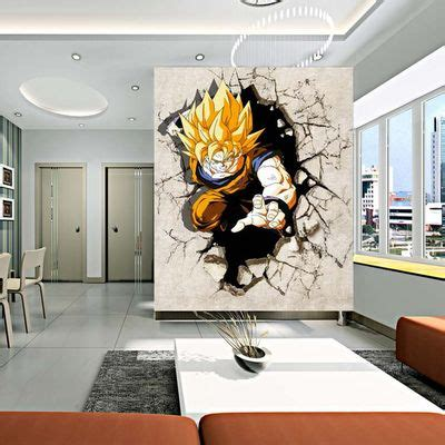 Wall Mural Posters fantasy deco vinilos decorativos dragon ball z