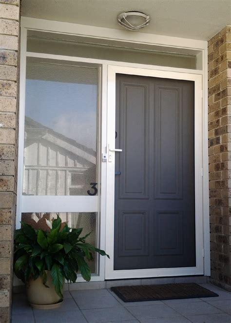 Security Front Door Screens Secureview Hinged Security Screen Door Stainless Steel Mesh Front Entry Door Sp Screens