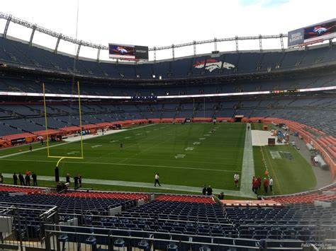 section viii athletics sports authority field section 130 rateyourseats com