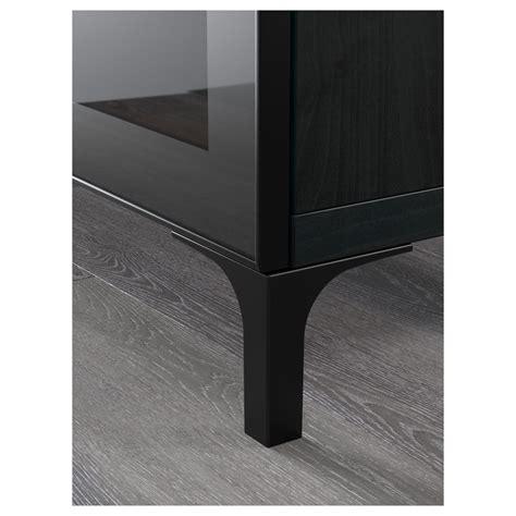 ikea com besta best 197 tv bench black brown selsviken high gloss black