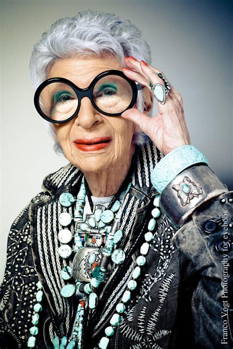 older women wearing jewelry style icon 3 iris apfel the epicurean