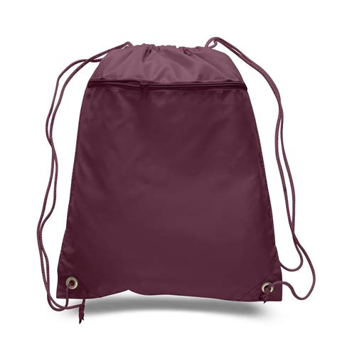 Zr Drawstr1ng Bag Non Or1 promotional polyester cheap drawstring bags with front pocket bpk350 nonwoven bag supplier