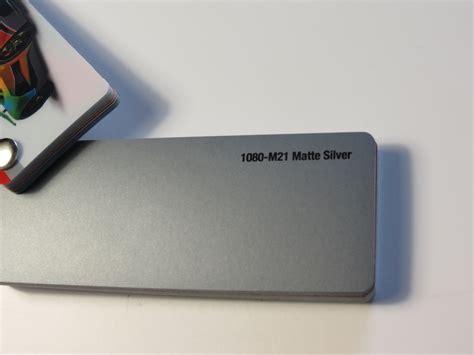 Autofolie Grau Metallic by 3m Series 1080 Matt Silber Zuschnitt Sonderposten