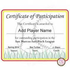 softball certificate templates free printable softball certificates softball awards