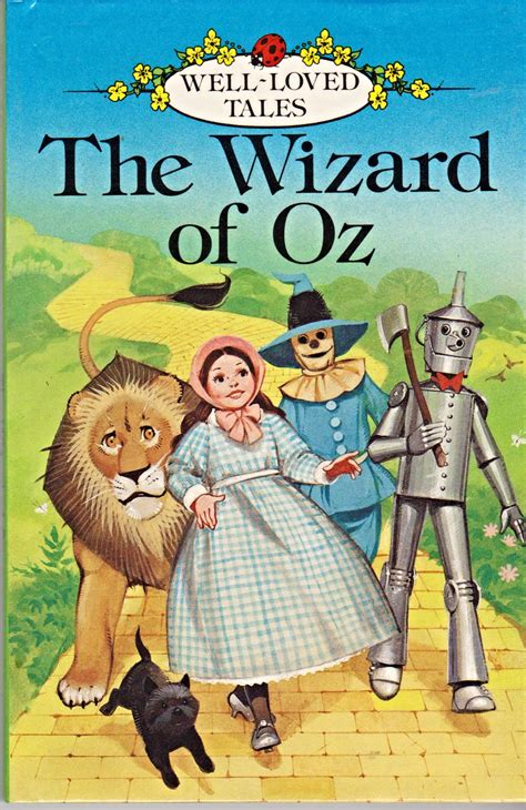 wizard of oz picture book wizard of oz ladybird book well loved tales series 606d