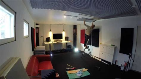 studio home design gallarate how to build a home recording studio in 10 days youtube