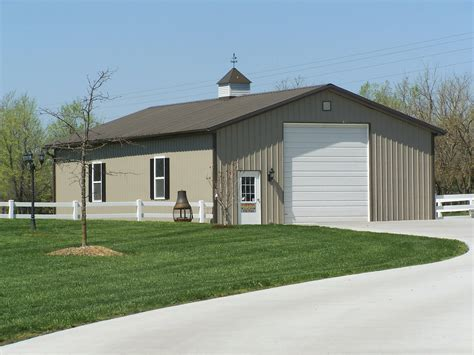 Small Metal Garage by Steel Sheds Design Residential Steel Buildings And