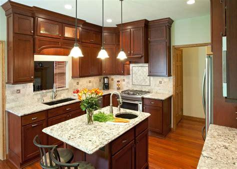 custom backsplash west valley kitchen bath kitchen ideas with dark cherry cabinets google search