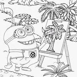 Despicable Me Phil Minion Wearing His Metal Goggles Is Learning How To  sketch template