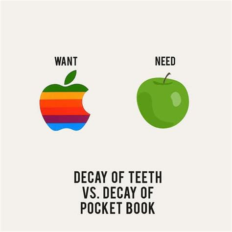 What A Wants our wants vs our needs 12 creative illustrations bit rebels