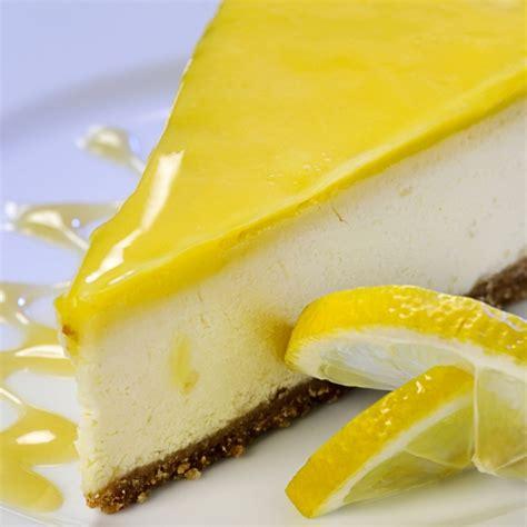lemon glazed cheesecake recipe