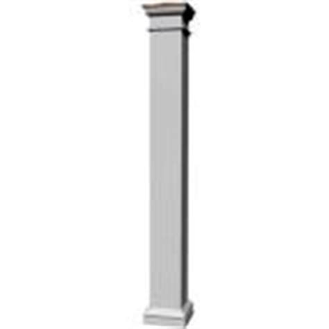 decorative columns home depot decorative wood work columns accessories moulding millwork the home depot