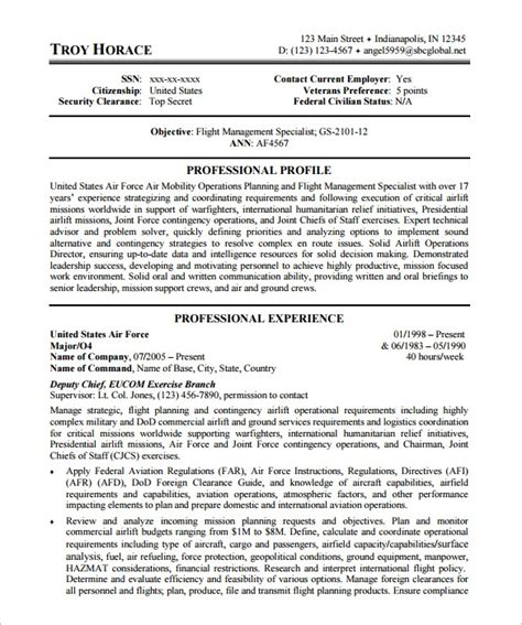 Federal Resume Template   health symptoms and cure.com