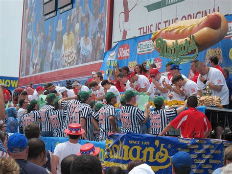 nathans famous hot dog eating contest joey chestnut doesn t hate me choosing figs