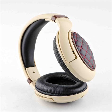 kingsun earphones fashion stereo leather headphone