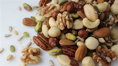 Detoxing Nuts by Types Of Nuts And Seeds And Their Health Benefits
