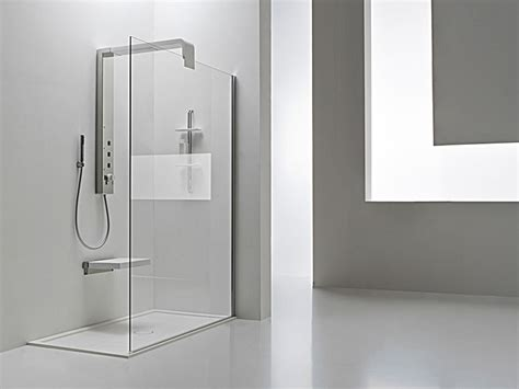 contemporary bathroom showers new modern shower column onda by arblu digsdigs