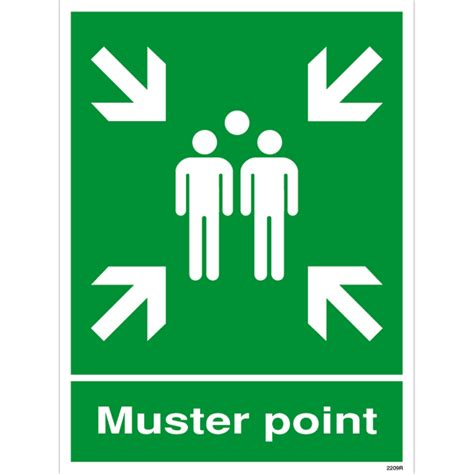 Muster Point Muster Point Sign
