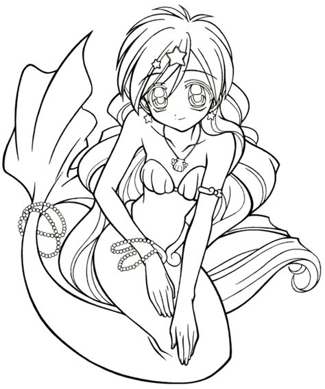 frozen mermaid coloring pages disegni da colorare anime
