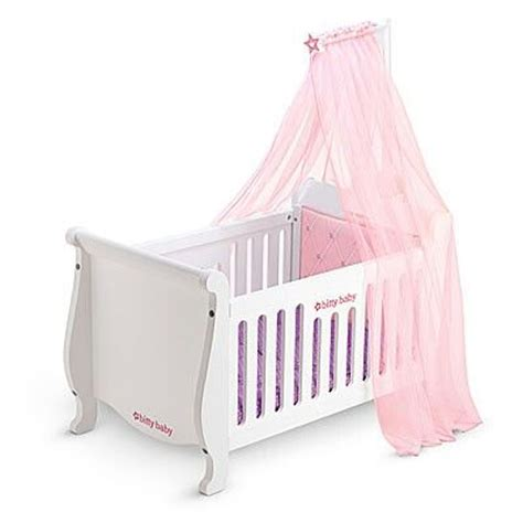 bitty baby bed bitty baby s new crib marlee christmas pinterest