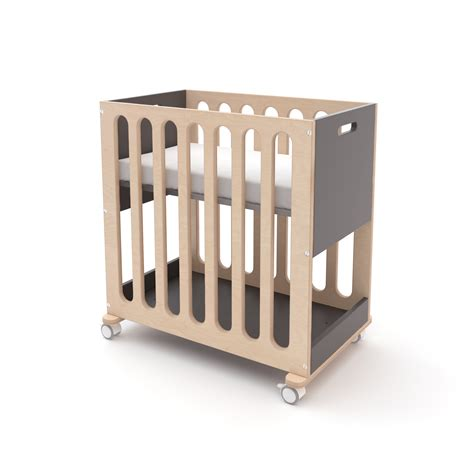 Bassinet To Crib by Oeuf Fawn Crib And Bassinet System Pokkadots