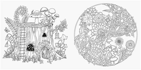 enchanted forest coloring book heidi heiner s thursday enchanted forest
