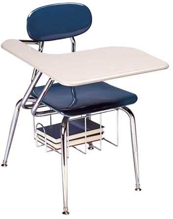 School Desk With Chair Attached by All Solid Plastic Chair School Desks By Scholar Craft