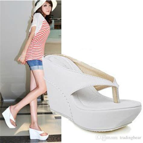 Sandal Big Heels Fladeo M 3 small big size shoes flip flop wedge sandals