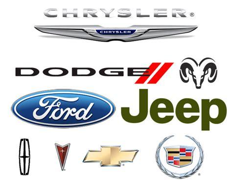 loghi automobilistiche automobilistiche americane la tua auto