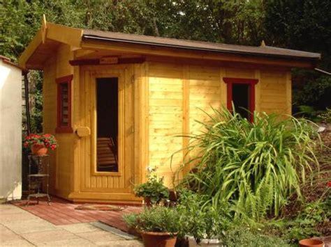garten sauna expertentipp die sauna im garten