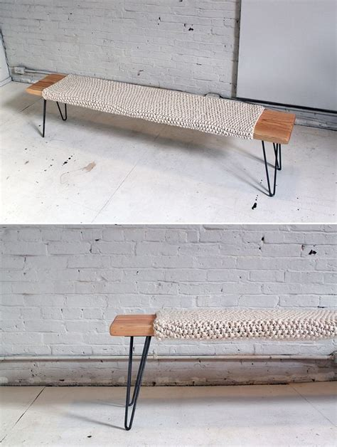 diy industrial bench pin by rafael pizzato on home ideas pinterest twine