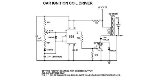 ignition coil driver power integrated circuit simple ignition coil drivers 7 steps
