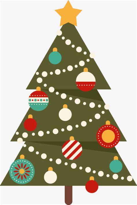 vector arbol de navidad arbol de navidad flat