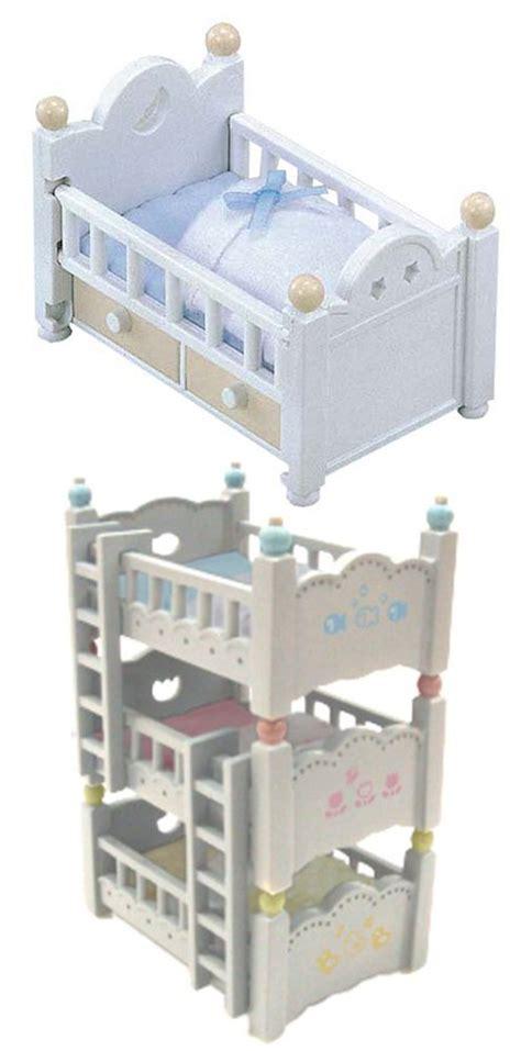 Sylvanian Bunk Beds Sylvanian Families 2 Bed Sets Bunk Bed Baby Bed