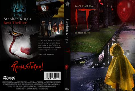 design dvd jacket the movie it dvd cover design on behance