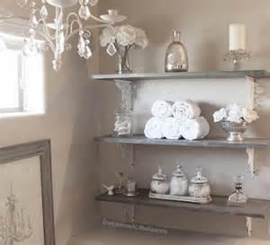 Decorating bathroom shelves on pinterest half bath decor bathroom