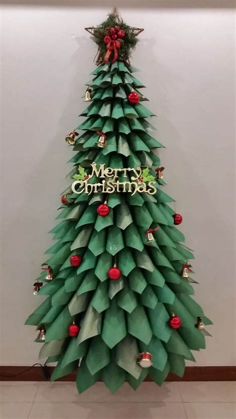 christmas trees made out of consttruction paper 22 creative diy tree designs design swan