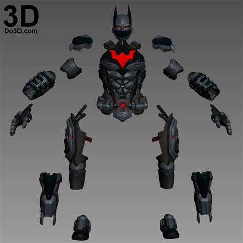 3d printable model batsuit armor from batman beyond