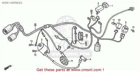 honda 110 wiring diagram free wiring diagrams