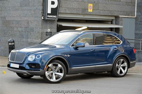 bentley coupe blue bentley bentayga blue