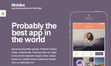 names themes for mobile mobilee theme review cssigniter must read